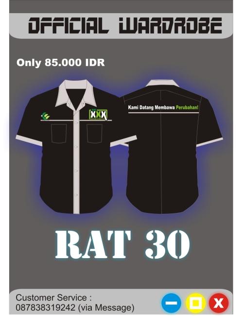 "Desain baju PDL resmi RAT 30 Koperasi ""Kopma UGM"""