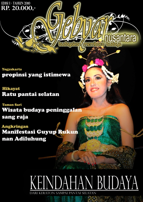 Cover majalah Gebyar (tugas kuliah)