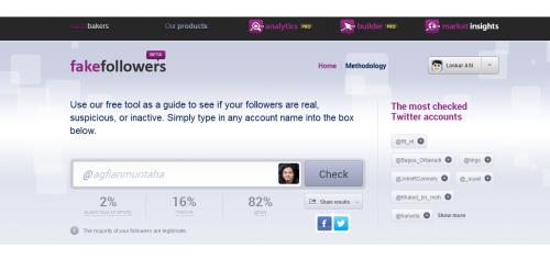 Yay, follower saya mayoritas valid, haha :D