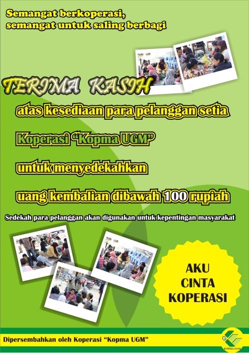 Poster Sosial Kopma UGM 2012