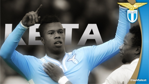 wallpaper Keita Balde Lazio Striker Wonder Kid