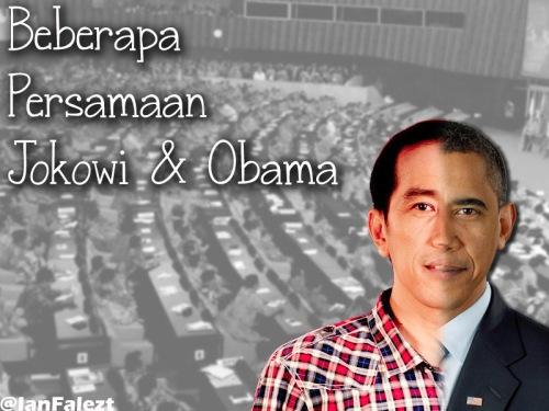 Jokowi & Obama