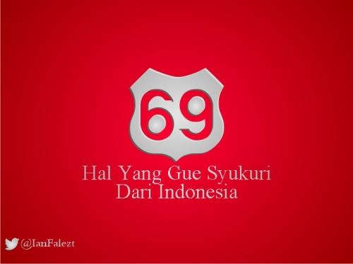 blog post kemerdekaan 69 tahun NKRI