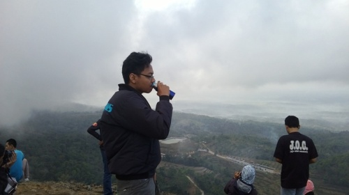 Wisata Gunung Api Purba Nglanggeran
