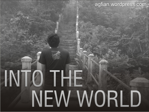 Blog post the new world