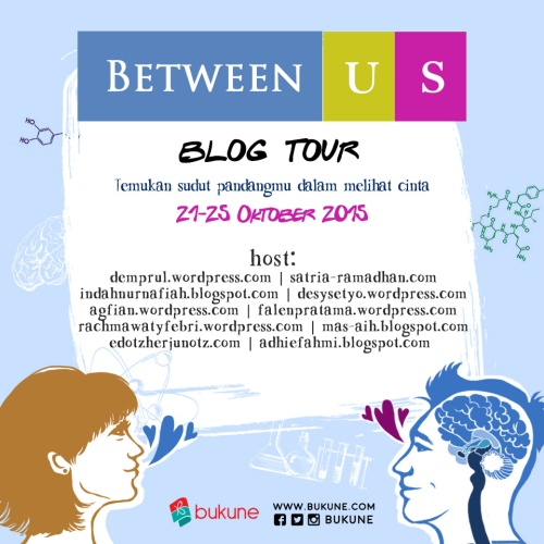 between us blog tour