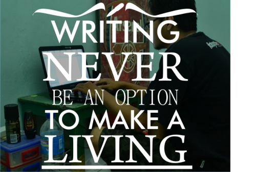 blog post writing never be an option