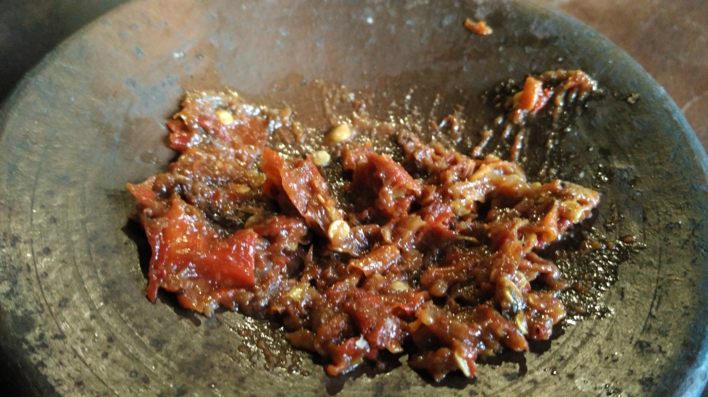 Spice of Super Sambal or SS in Yogyakarta